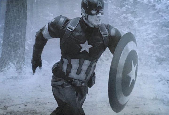 Captain America! - Faithie's art Shop!
