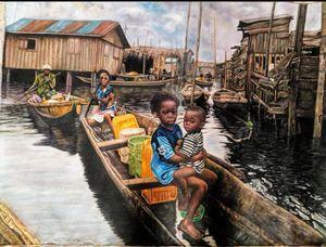 Makoko waterside