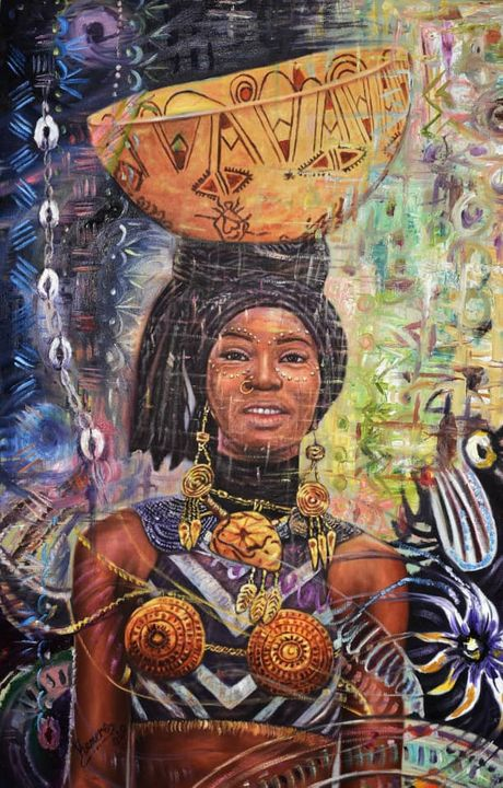 Beauty of a Woman - Kamere Gallery of African Art