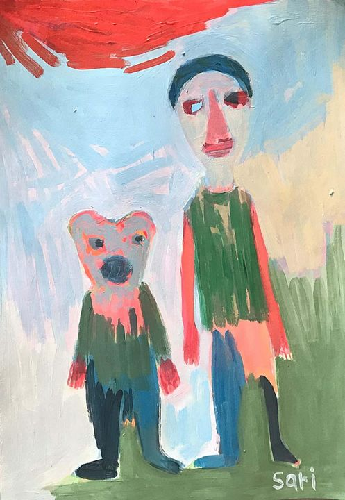"""#1613 """"Boy and Bear - Painted Visions"""