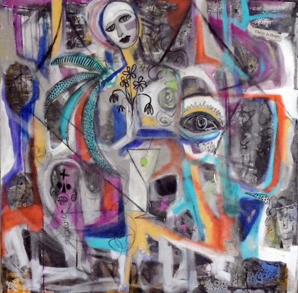 Street Art Madonna - MardisArt