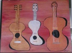 The three talking guitars