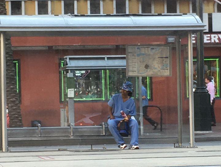 Bus Stop - Ashley F Thacker