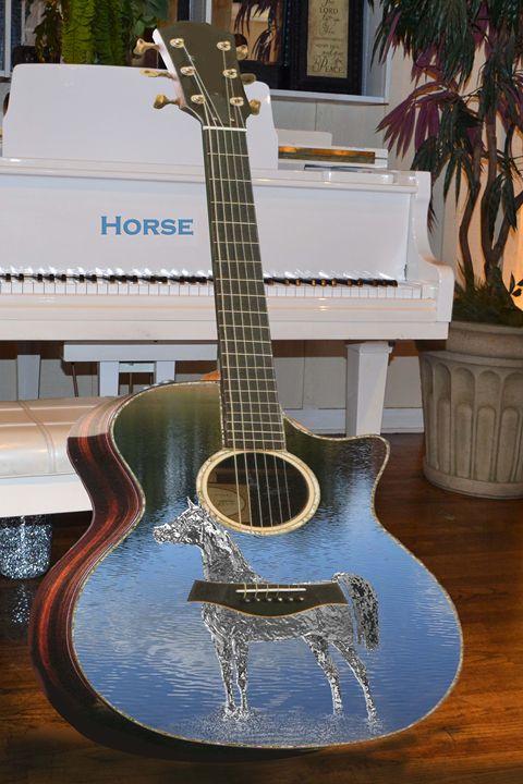 Horse Guitar - Cleotha Williams