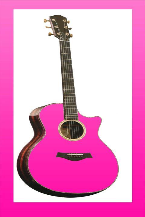 Pink Guitar - Cleotha Williams