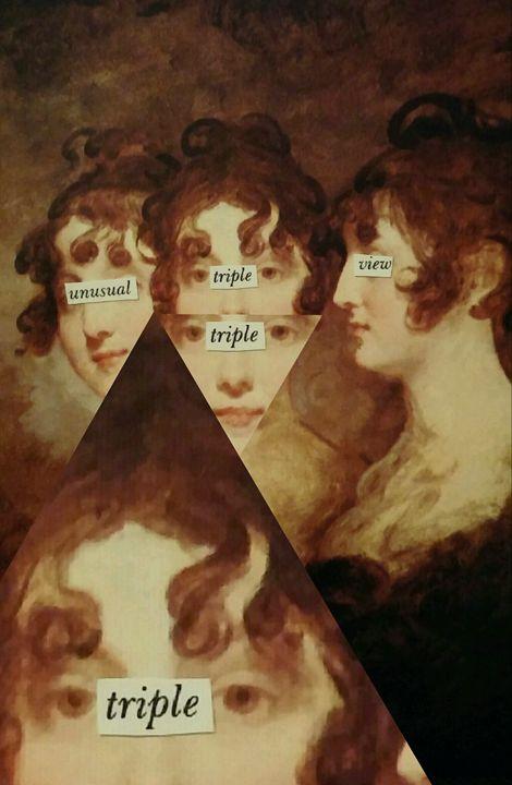 Unusual Triple View - Ikedelic Art