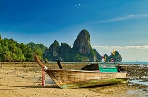 Long-tail Boat, Thailand.