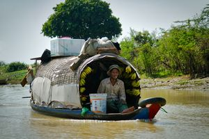 Cambodian River Trader