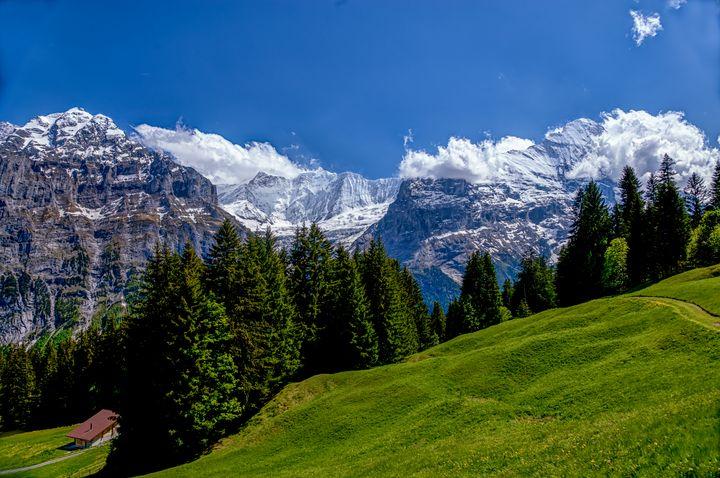 Swiss Alpine Scenery - Rosewood Photographics