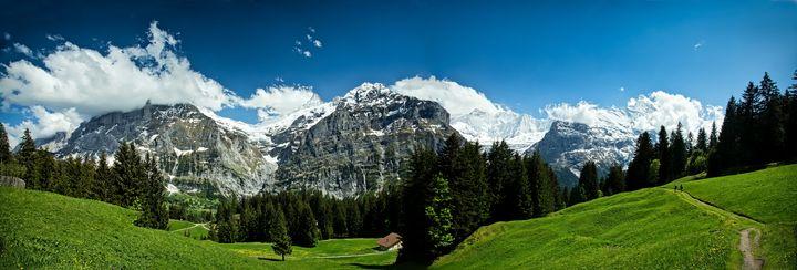 Alpine Panorama, Switzerland - Rosewood Photographics
