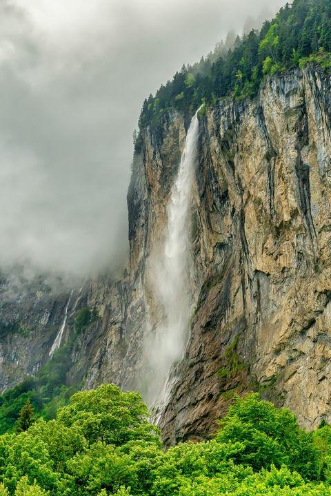 Staubbach Waterfall, Lauterbrunnen - Rosewood Photographics