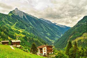 The Stillupgrund Valley, Austria.