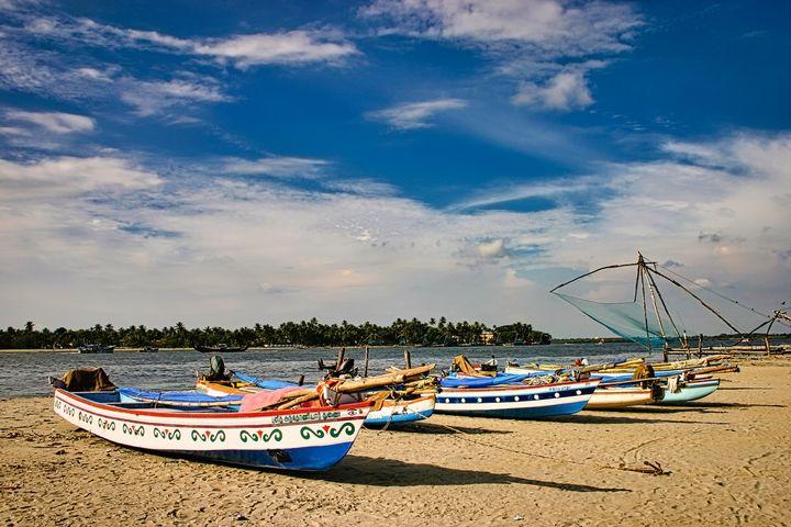 Kerala Fishing Boats - Rosewood Photographics