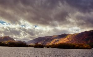 Autumn Sunlight at Derwentwater
