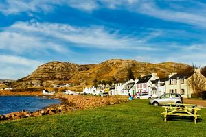 Shieldaig Village, Wester Ross, Scot