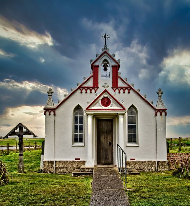 The Italian Chapel, Orkney, Scotland - Rosewood Photographics