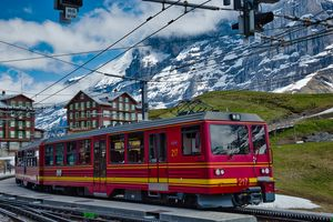 Cog Railway Train Switzerland