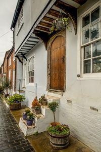 Interesting doorway in St Albans