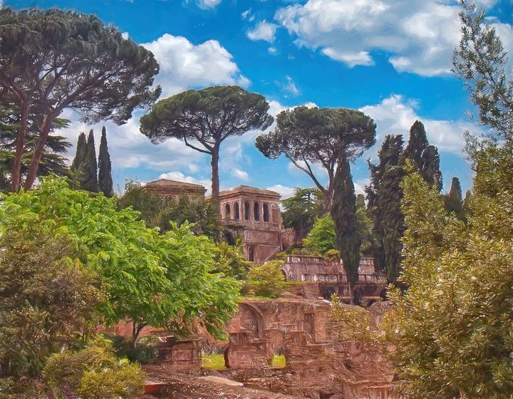 The Roman Forum - Rosewood Photographics