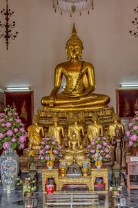 Golden Buddha Shrine