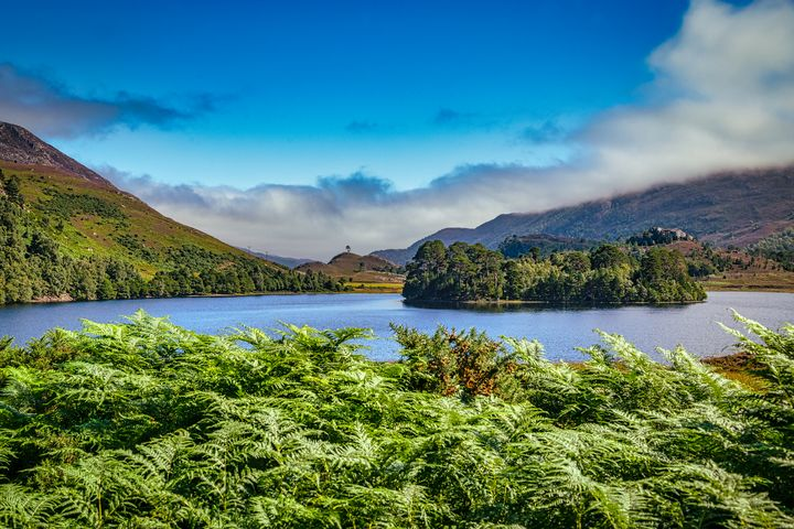 Island in Highland Loch - Rosewood Photographics