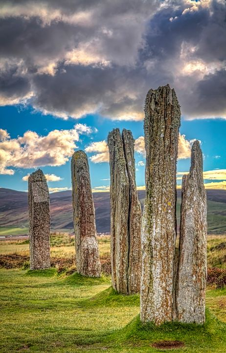 Ring of Brodgar, Orkney, Scotland. - Rosewood Photographics
