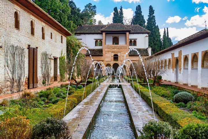 Alhambra water feature - Rosewood Photographics