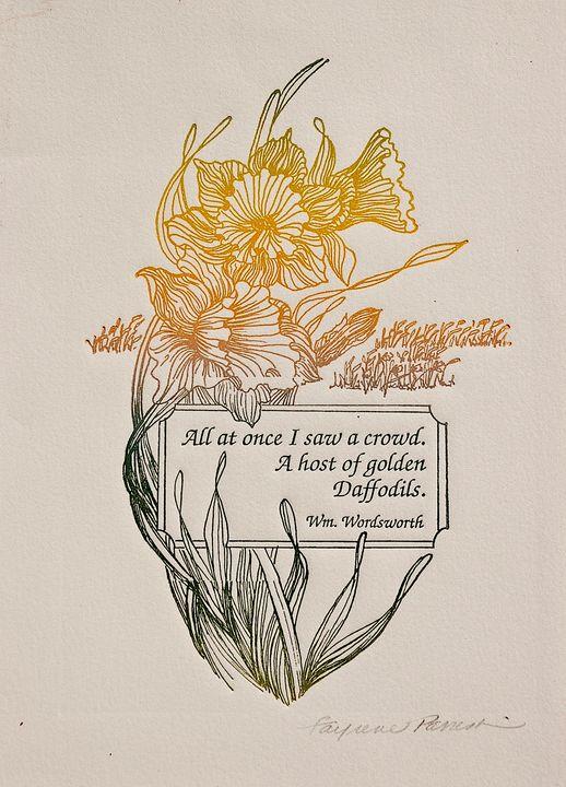 Golden Daffodils - Fayrene Parrish