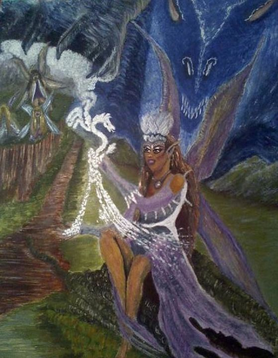 Dragon Conjurer - Jewell Art Expressions
