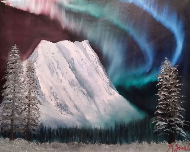 The Northern Lights - Jewell Art Expressions