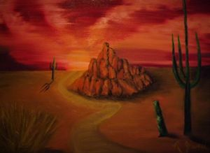 """Only Out West"" - Jewell Art Expressions"