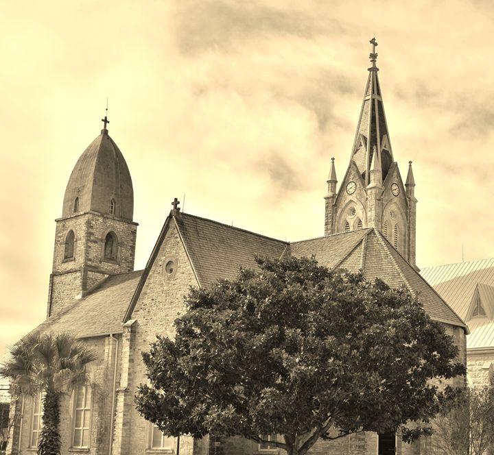 St. Mary's in Fredericksburg, Texas - Charles F Miller