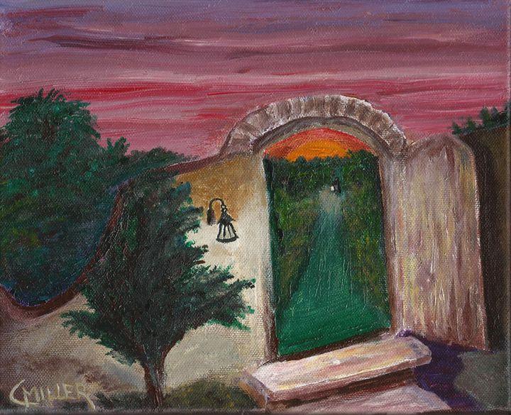 Evening Lights - Charles F Miller