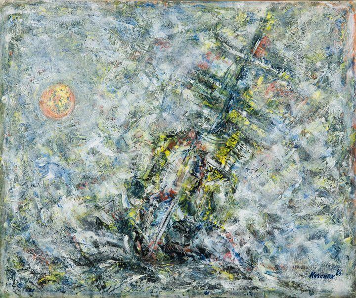 Esperanza - Art by Peter Koschak, CH, SLO