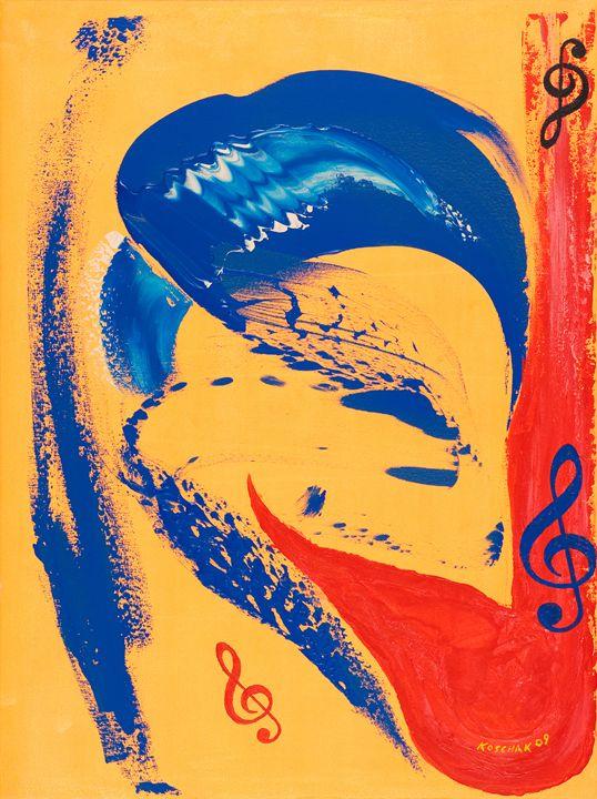 Symphony - Art by Peter Koschak, CH, SLO