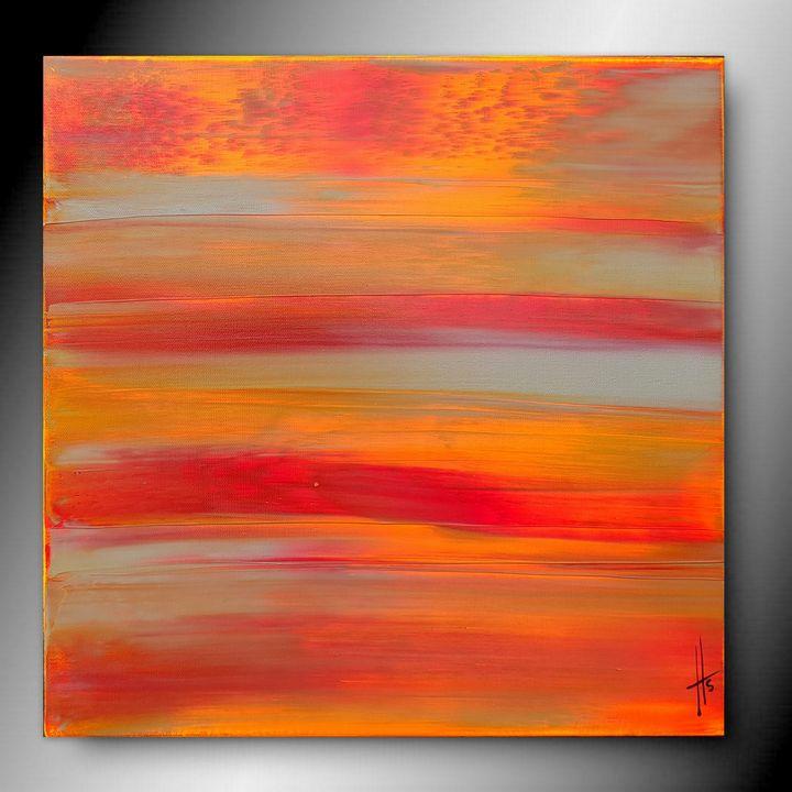 ORANGE MECANIQUE - abstract art HS