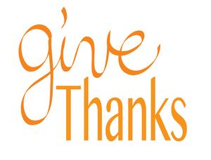 Give Thanks Typography