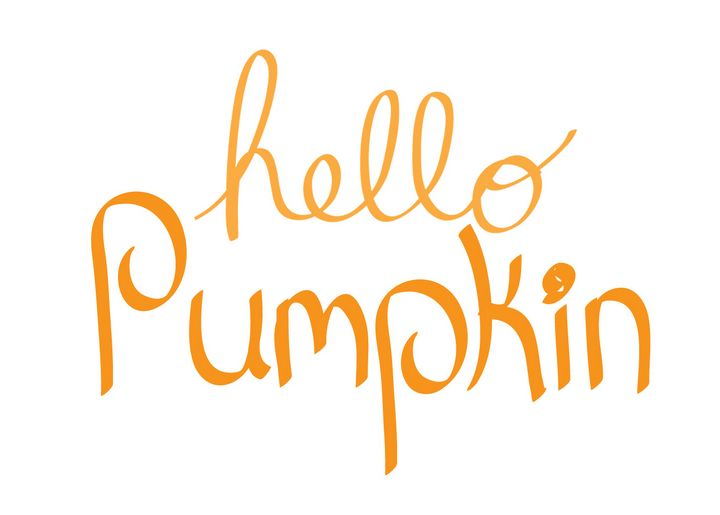 Hello Pumpkin Sign - Bethany Trimble
