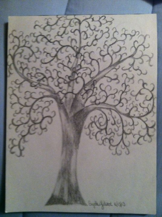 Silly Tree - LeahLevinArt