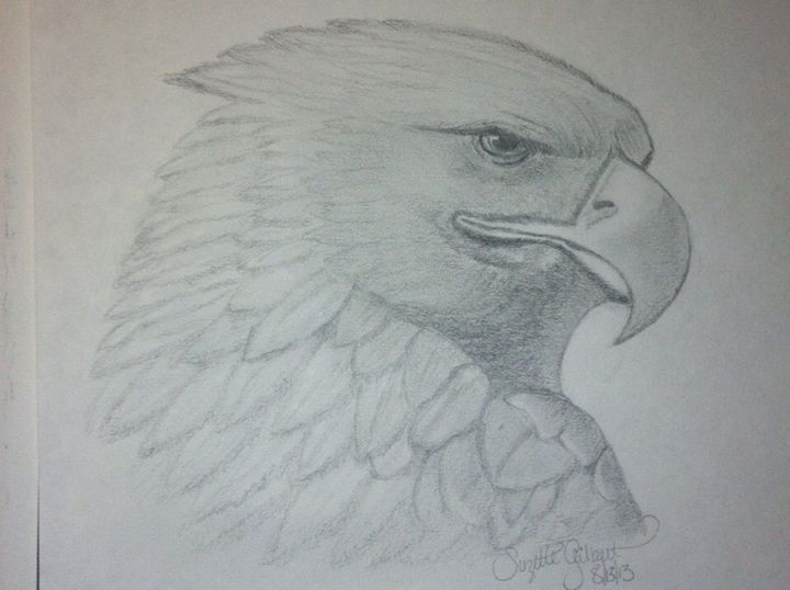 Eagle Eye - LeahLevinArt