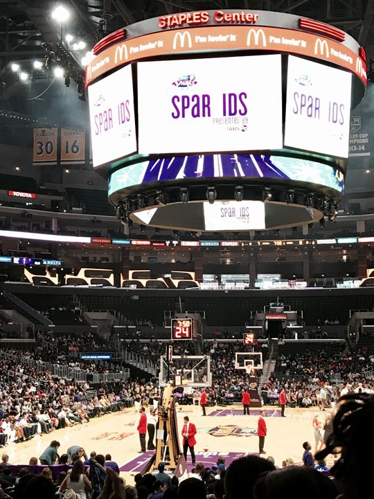 Staples Center Front view - JDesign