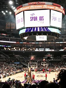 Staples Center Front view