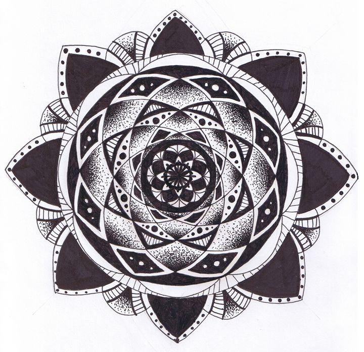 Mandala For Days - Erica's Drawing