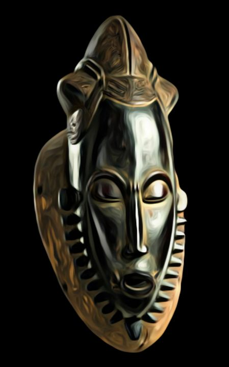 African mask - Alina