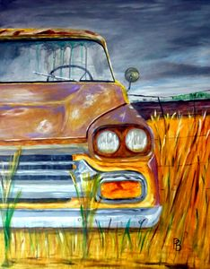 Rusty Car.