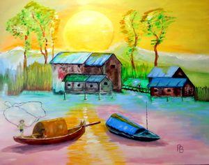 Morning Vietnam Village