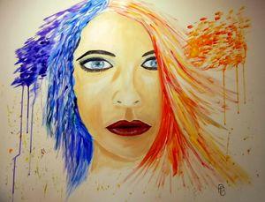Multi Coloured Girl.