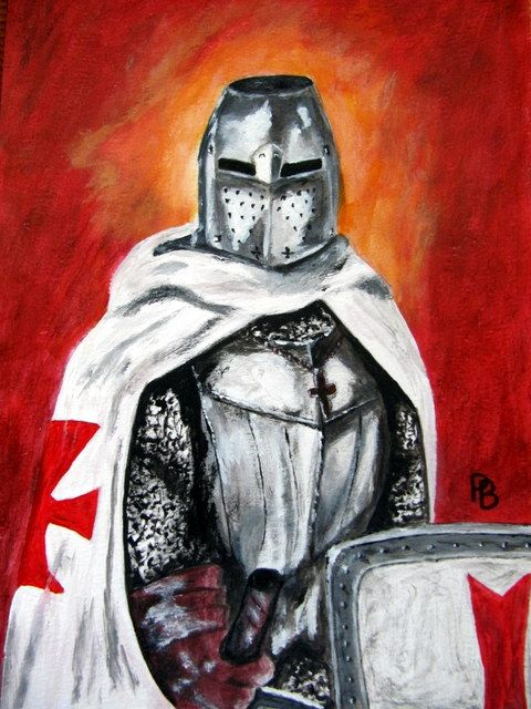 Templar Knight. - Beckett's Art Page