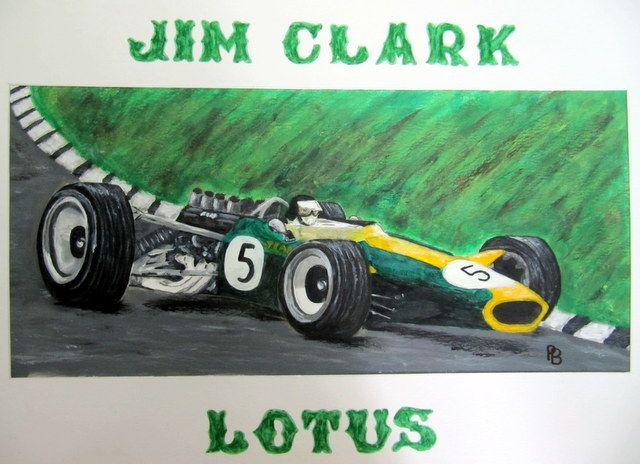 Jim Clark. - Beckett's Art Page