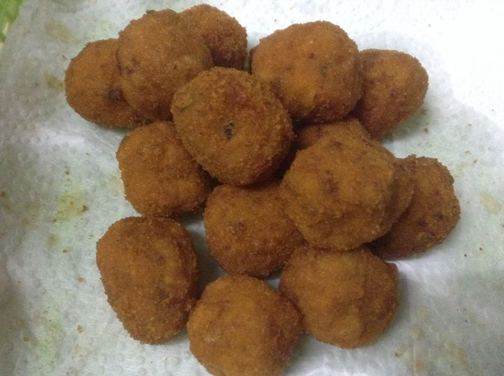 Homemade Chicky Balls - I am Noona